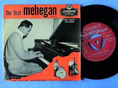 "JOHN MEHEGAN rare 7"" EP London with Charles Mingus"
