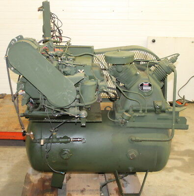 Air compressor, Portable, 2 stage, Gas engine, 6hp, 15 CFM, 175PSI, Worthington