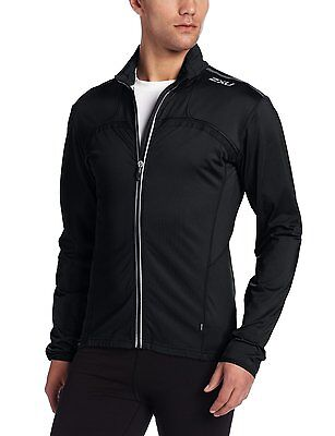 2XU Men's SMD Thermal Cycle Top Jacket Black XL X-Large New Reflective