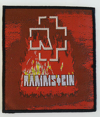 RAMMSTEIN Embroidered Sew On Patch UK SELLER Patches