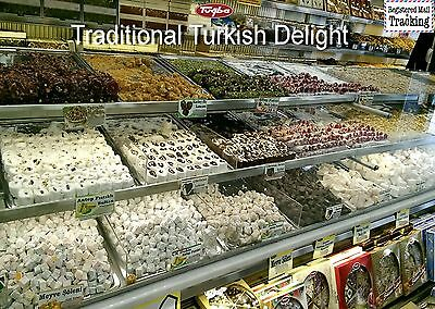 TRADITIONAL TURKISH DELIGHT - 17 Different Turkish Delight - VERY FRESH AND NEW