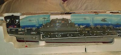 AIRCRAFT CARRIER remote control HT-2878 NEVER used NEW complete