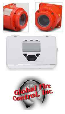 Explosion Proof Beam Smoke Detector, 24VDC 4-wire, includes transmitter and