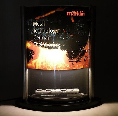 Marklin Factory Metal Technology Lighted Display w/Borsig Casting 120V VERY RARE