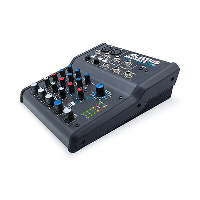 ALESIS MULTIMIX 4-Channel Mixer with Effects & USB Audio Interface