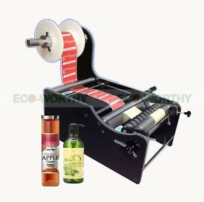 Brand New Manual Round Bottle Labeling Machine TB-26 Label Width:10-210mm