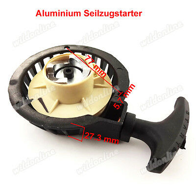 Aluminium Seilzugstarter Pull Starter für Mini Pocket Dirt Bike ATV Quad Bike