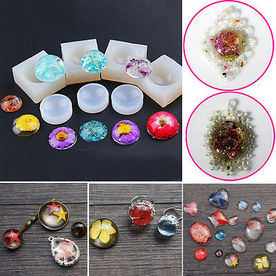 Silicone Resin Time Gem Mold for DIY Handmade Pendant Jewelry Making Moulds Hot