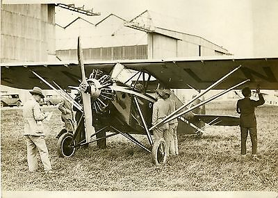 """COUPE DUNLOP D'AVIONS (ORLY 1931)"" Photo originale G. DEVRED (Agce ROL)"