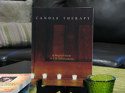 Candle Therapy Book New, Catherine Riggs-Bergesen