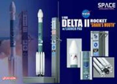 Dragon 1/400 Delta II Rocket USAF GPS-IIR-16 (Space) 56334