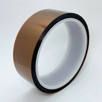 30mm X 33m 100ft Kapton Tape High Temperature Heat Resistant Polyimide; US Ship