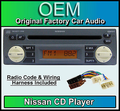 Nissan Micra K11 Cd Player Nissan Car Stereo Grey With Radio Code