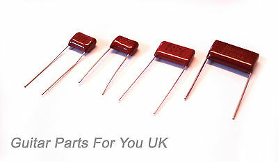 RED BARON 2 pack Electric Guitar Tone Capacitors electric guitar tone upgrade