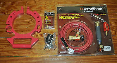 Turbo Torch Air Acetylene Deluxe B Tote Kit  (0386-0835) New Old Stock!