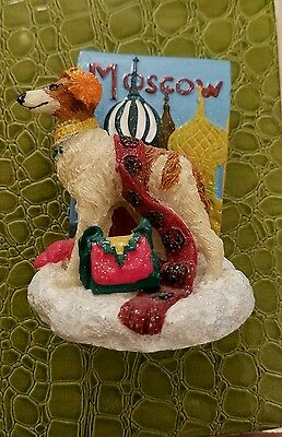 Borzoi Dog Figurine Moscow Icing 2002 By Claire's