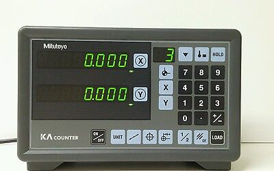 Mitutoyo 174-173, 2 Axis Counter for DRO Scales Digital Readout KA-12