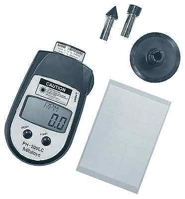 Mitutoyo 982-552, Digital Hand Tachometer Contact/Non-Contact Style