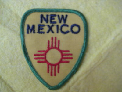 """Vintage State Of New Mexico Patch 2 5/8"""" X 3 1/4"""""""