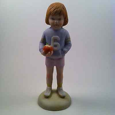 Vintage Enesco Growing Up Girls Age 6