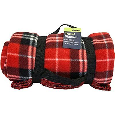 Picknic picnic travel rug blanket fleece car pet dog or seat cover SHIPPING