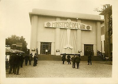 """""""Inauguration :  EXPOSITION COLONIALE 1931"""" Photo originale G. DEVRED (Agce ROL)"""