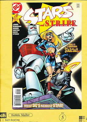 Stars and S.T.R.I.P.E 1st Star Girl Coutney Whitmore 1st Geoff Johns work NM 9.4