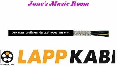 LAPP ÖLFLEX® ROBUST 215 C 3 x 2.5mm CABLE SHIELDED AUDIOPHILE GRADE FOR DIY