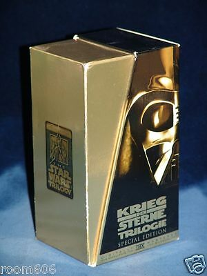 Star Wars Trilogy VHS - Special Edition - THX - 1997