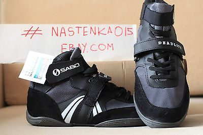 Sabo Deadlift WEIGHTLIFTING Powerlifting GYM Crossfit Shoes.All Sizes +Straps