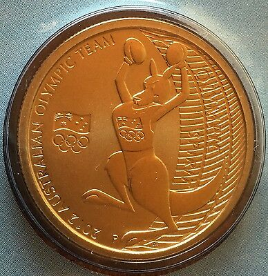 AUSTRALIAN Olympic Team  $1 Coin & Stamp PNC 2012 Uncirculated ✔️ London