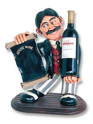 Wine Waiter Statue Menu Board  Restaurants Cafe Wine Bar Home Decor Art