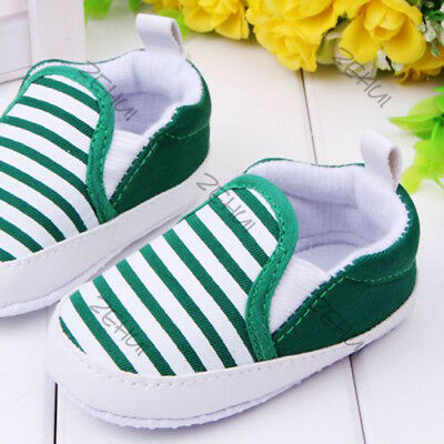 Infant Toddler Baby Boys Girls Kids Soft Sole Shoes Sneaker Newborn 3-12 Months