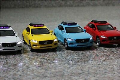1x New 1:32 Volvo xc coupe Alloy Diecast Car Model Toy With Sound & Light