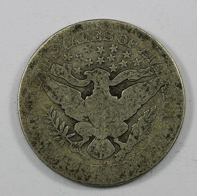 USA 1908 Quarter Coin G - VG