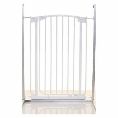 NEW Dreambaby Extra Tall Swing Closed Security Gate in White