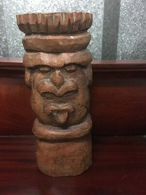 Balinese Wood Carving - Man - makes an ideal gift !