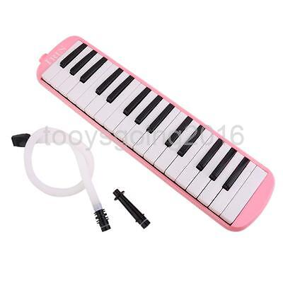 32 Key Melodica with Case Musical Instrument Music Lovers Kids Gift Pink