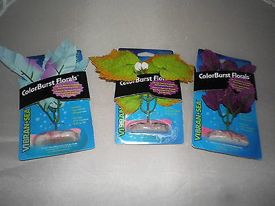 Colorburst Florals Silk Type Plants - Mini -  Set Of 3