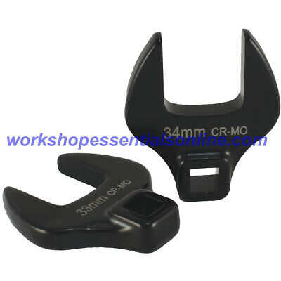 """32mm Crowfoot Wrench 1/2""""Drive Open End Trident T214132"""