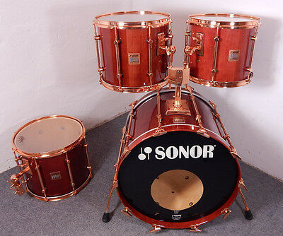 Sonor Hilite Exclusive 22,13,14,15 Vintage Drumset Schlagzeug *Made in Germany*