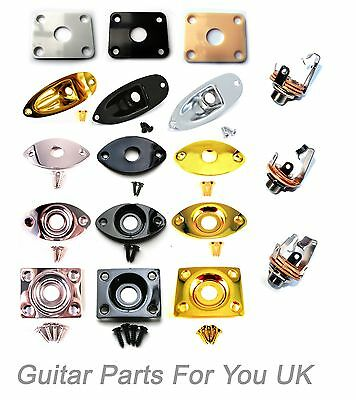 Electric Guitar Jack plates for stratocaster les paul and telecaster