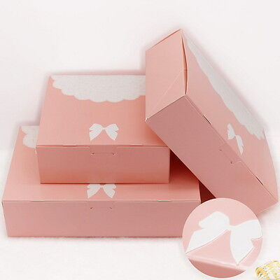 10pcs Colorful Box Wedding Party Candy Cake Gift Boxes Lace And Butterfly