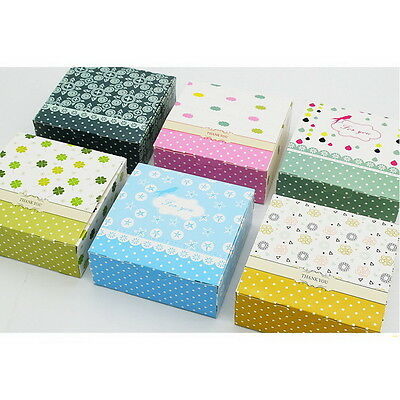 10pcs Colorful Box Wedding Party Candy Cake Gift Boxes Flowers And Dots