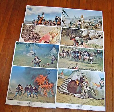 1970 Soldier Blue~complete set (8) lobby cards~Candice Bergen~unused