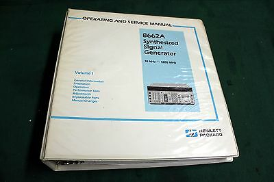 Hp 8662A Operation And Service Manual  Volume 1