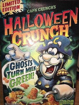 Cap'n Crunch's Limited Edition Halloween Crunch Cereal 13 Oz