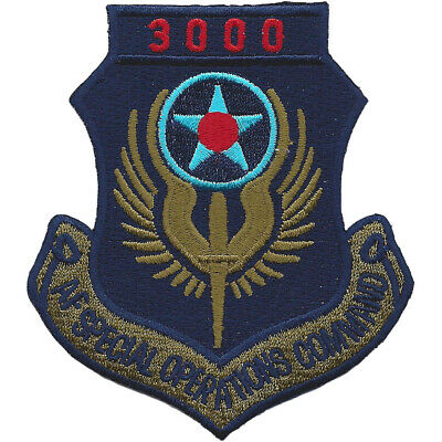 AFSOC 3000 Hours Tab Patch