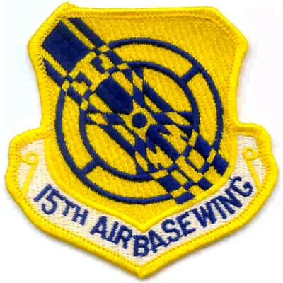 15th Air Base Wing Patch