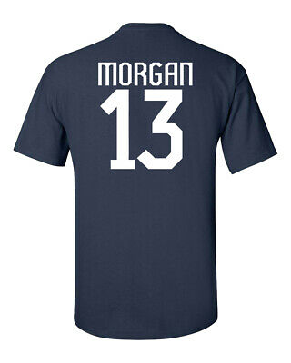 ALEX MORGAN United States Women's Soccer Team 2 Sides MEN'S Tee Shirt 1182
